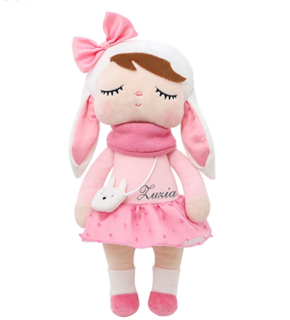 Metoo Angela Personalized Bunny with Bow