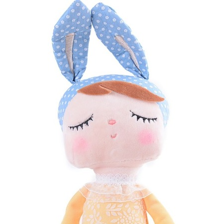 Metoo Angela Bunny Doll in Yellow Dress