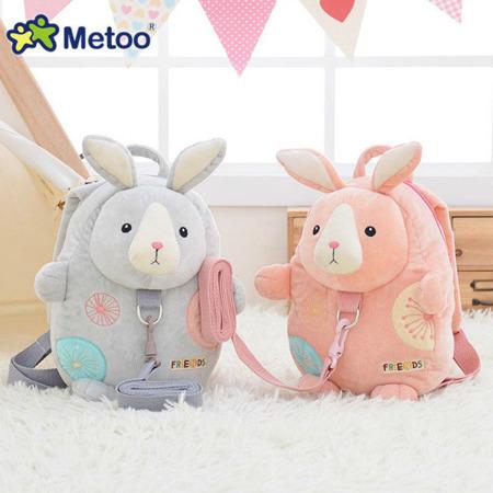 Metoo Blue Backpack Friends