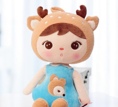 Metoo Deer Girl Doll