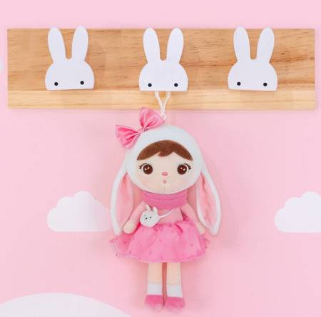 Metoo Mini Bunny with Bow Doll