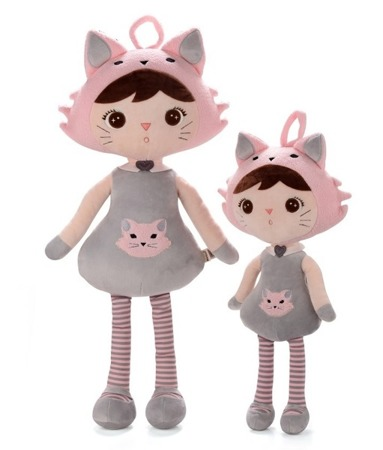 Metoo Personalized Cat Girl XL Doll 70 cm