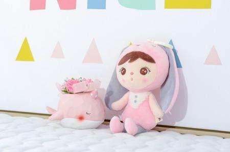 Metoo Personalized Mini Bunny Girl Doll