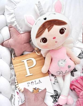 Metoo Personalized Pastel Unicorn Doll
