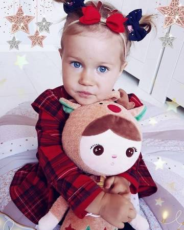 Metoo Personalized Reindeer Doll