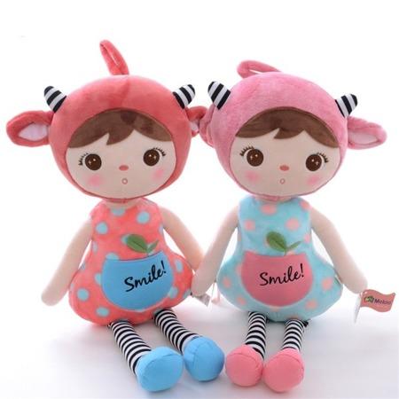 Metoo Pink Sheep Girl Doll