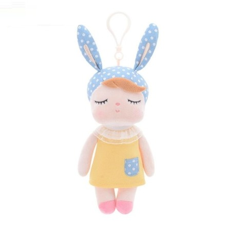 Mini Metoo Angela Bunny Doll in Yellow Dress