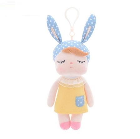Mini Metoo Angela Personalized Bunny Doll in Yellow Dress