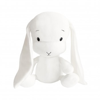 Personalized Bunny Effik L - White with White Ears 50 cm