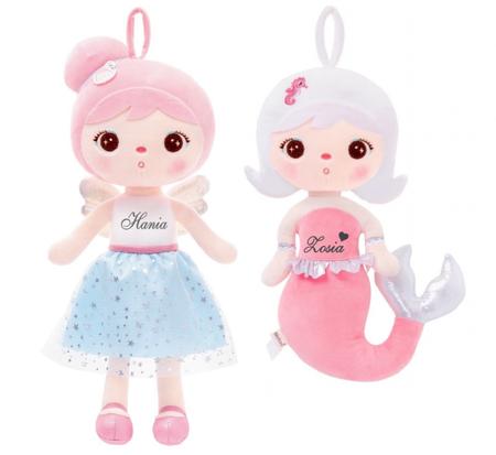 Personalized Set of Dolls - Angeland Mermaid