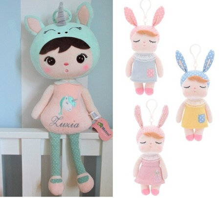 Set of Dolls - Personalized Unicorn and Mini Angela