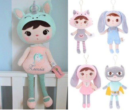 Set of Dolls - Personalized Unicorn and Mini Doll