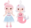 Personalized Set of Dolls - Angel and Mermaid