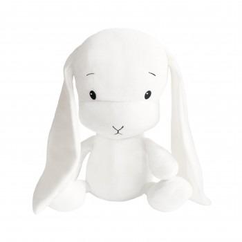 Effik Królik L personalizowany - Biały 50 cm