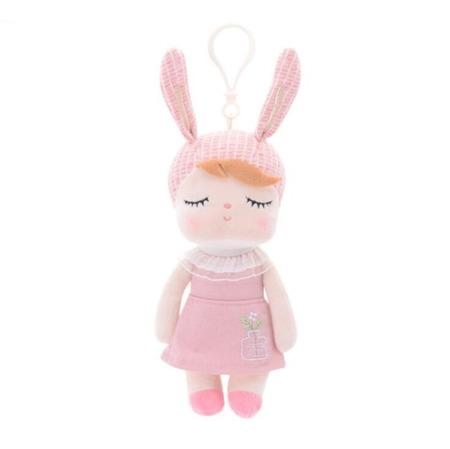 Lalka Metoo Mini Uszatka w Różowej Sukience