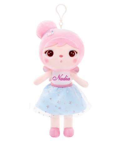 Lalka Metoo mini personalizowana Aniołek